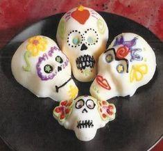 White Chocolate Sugar Skulls