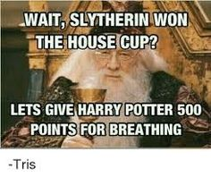 Image result for harry potter house cup memes