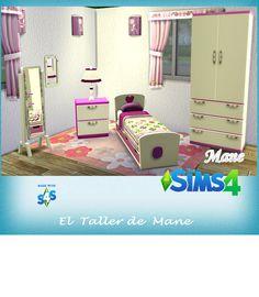 El Taller de Mane:   Recolor  Set habitación juvenil            Desca...
