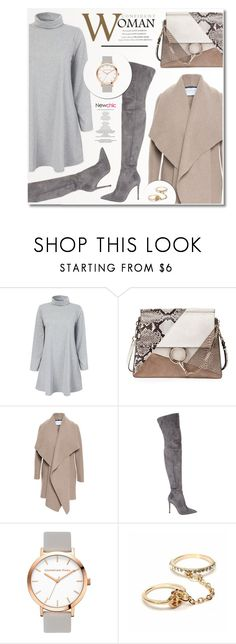 """""""loveNewchic #11"""" by ruska-10 ❤ liked on Polyvore featuring Chloé, Harris Wharf London, Gianvito Rossi, StyleNanda, casual, camelcoat, newchic and lovenewchic"""