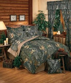 SouthernSistersDesigns.com - Mossy Oak Camouflage Break-Up Pattern Camo Comforter Set, $119.95 (http://www.southernsistersdesigns.com/mossy-oak-camouflage-new-break-up-comforter-set/)