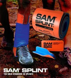 ALWAYS have a Sam Splint in your pack. I have used them for wrists, legs, knees, cervical collars, even cut them for fingers. A first aid essential!