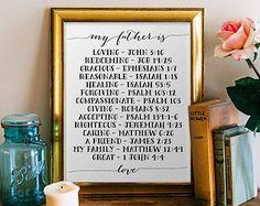 Bible Verse art printable Scripture Print wall by PrintableWisdom