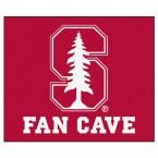 Ncaa Stanford University Red Man Cave 5 ft. x 6 ft. Area Rug