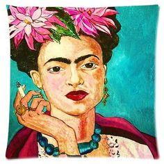 Frida Kahlo Cushion Cover Pillow Case