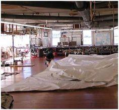 Doyle South Dartmouth sail production