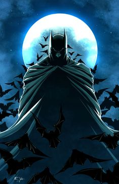 33 Brilliant Collection of Batman Artworks #Illustration #Comics #Drawing