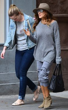 Winky Face from Sarah Jessica Parker's Street Style