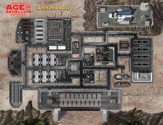 Star Wars RPG Maps | These maps are useful for any Age of Rebellion campaign, giving the GM ...