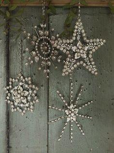 sparkly stars...