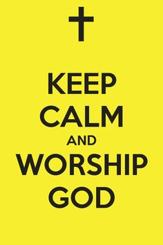 There's something about Worship that calms the anxious soul. Do more of it and peace will flood us