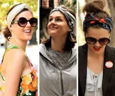 how to tie a head wrap- interesting style