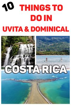 10 fun things to do in the South Pacific of Costa Rica: Uvita and Dominical http://mytanfeet.com/activities/things-to-do-in-uvita-and-dominical/