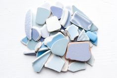 Bulk Japanese Blue Sea Pottery Pieces,Coastal Home Decor,Ceramic Craft Supply,Vintage Gifts,Beach Decor,Beach House Decoration,Beach Finds by ReverseGem on Etsy