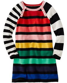 All the makings of a fave: soft and washable combed cotton sweaterknit, irresistible stripes, mismatched sleeves and happy pops of color—a super comfy slipover that knows how to play and brighten everyone's day.  <br> •100% combed cotton yarns<br> •Raglan sleeves with shoulder buttons<br> •Certified by OEKO-TEX® Standard 100 | 03.U.9375 - FI Hohenstein<br>  •Machine wash<br>  •Imported