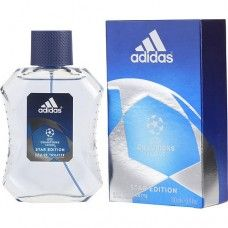 Adidas Uefa Champions League By Adidas Edt Spray Oz (star Edition) Good Cologne For Men, Uefa Champions League, Adidas Men, Perfume Bottles, Product Launch, Louis Vuitton, Stars, Thriller, Chanel