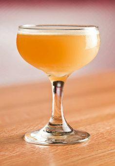 Angel's Envy Bourbon, Cocchi Americano, House Grenadine, Lemon, and Lemon Oil