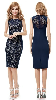 USD$49.99 Buy Charming Stylish Navy Blue Lace Short Summer Casual Pencil Dress - See more at: http://www.ever-pretty.com/all-dresses/cocktail-dresses/charming-stylish-navy-blue-lace-short-summer-casual-pencil-dress,prom dress short ,dress for party,dress online,dress 2015