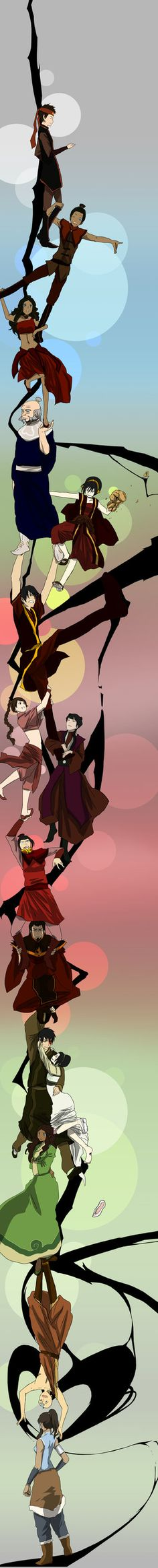 Avatar The Last Airbender/ Legend of Korra Durarara don't lie I live these
