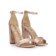 eb78c0259e11 Yaro Block Heel Sandal. Ankle Strap ...