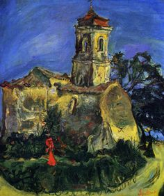 Soutine - Church at Cagnes 1924