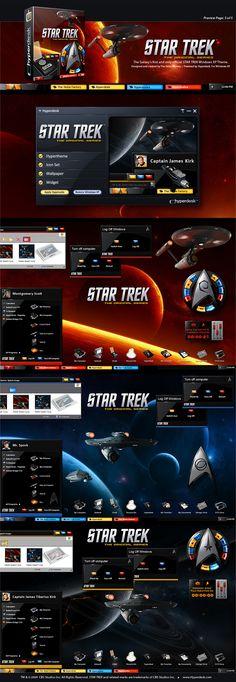 Star Trek themes for pc desktop