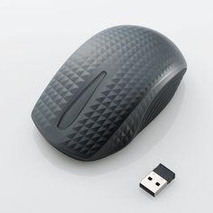 Elecom M-TC01DB wireless mouse, designed by CRE8