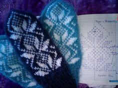 Mittens Pattern, Knit Mittens, Mitten Gloves, Knit Crochet, Knitting Patterns, Projects To Try, Socks, Hats, Handmade