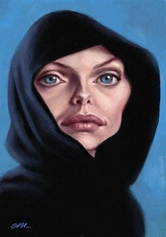 Michelle Pfeiffer - artist: Euan Mactavish
