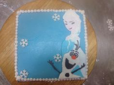 Disney frozen cake Elsa and Olaf