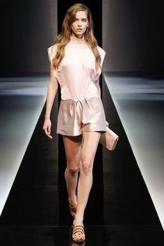 look 47  Spring 2013 Ready-to-Wear  Emporio Armani