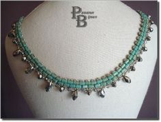 COLLIER ANISSA TURQUOISE  ARGENT Beaded Necklace, Necklaces, Turquoise, Amazon Kindle, Beading, Patterns, Vintage, Etsy, Jewelry