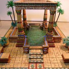 The Imaginarium of Lady Sabelle - Lady Sabelle Designs Ancient Egyptian Architecture, Ancient Egyptian Art, Egypt Concept Art, Egyptian Home Decor, Hirst Arts, Visit Egypt, Wargaming Terrain, Tabletop, Fantasy Landscape