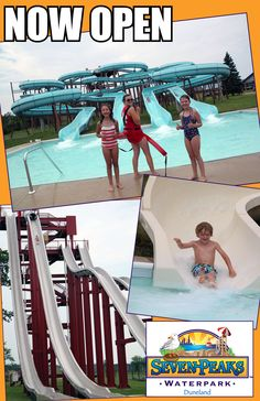 Seven Peaks Waterpark is now open in Indiana Dunes Country! http://www.indianadunes.com/things-to-do/attractions/?listingid=18608