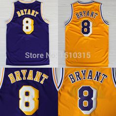 Aliexpress.com : Buy Los Angeles Kobe Bryant 8 1997 Throwback Jersey, Cheap  MESH