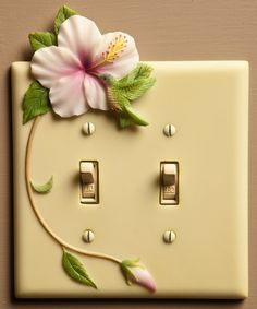 Hummingbird Double Switchplate