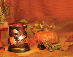 NEW Autumn Glow #Scentsy Warmer  Part of the 2013 Harvest Collection!