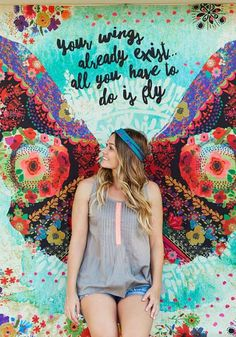 Spread positivity & free-spirited style with inspirational treasures & boho decor from Natural Life. Our hand-crafted designs will inspire you to Live Happy. Shop Now! Angel Wings Wall Art, St Etienne, Wing Wall, Grafiti, Mural Wall Art, Natural Life, Butterfly Wings, Holidays And Events, Watercolor Flowers