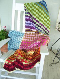 KristenJ's Woodstock Blanket. Beautiful!!
