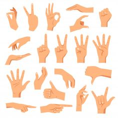 Buy Set of Hands by macrovector on GraphicRiver. Set of hands in different gestures emotions and signs on white background isolated vector illustration. Orange Background, Geometric Background, Simple Illustration, Character Illustration, Vector Free Download, Free Vector Images, Abstract Backgrounds, Colorful Backgrounds, Gatos Vector