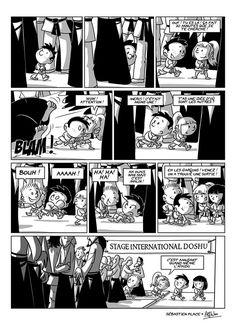 Aïe Kido est une bande dessinée humoristique sur la pratique de l'Aïkido. Le dessin est réalisé parAlfwenet le scénario de Sébastien Place. Pour voir toutes les planches Aïe Kido disponibles, …