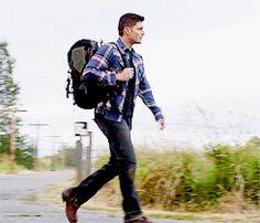 """jacklesonmymind: ""jensackel: "" Dean + Jeans "" thud … me hitting the floor "" Legit as fuck "" Supernatural Poster, Supernatural Gifs, Supernatural Seasons, Jensen Ackles, Matt Cohen, Jared Padalecki, Misha Collins, Winchester Boys, Smallville"