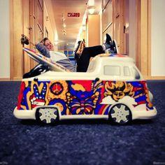 @rachelrominger chillin on the surf van! #r2life #vw...