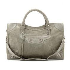 mytheresa.com - Veloursleder-Tasche Classic City - Luxury Fashion for Women / Designer clothing, shoes, bags