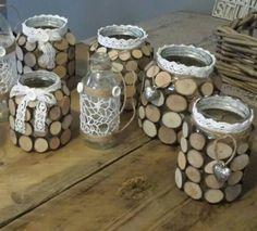 Reuse Wine Bottles, Bottles And Jars, Wood Design, E Design, Trees Drawing Tutorial, Mason Jar Art, Carport Plans, Bookcase Plans, Woodworking Projects
