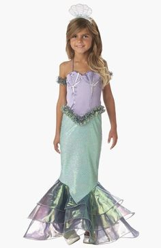 InCharacter Costumes 'Magical Mermaid' Dress & Headband (Little Girls & Big Girls) available at #Nordstrom