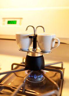Frabosk Lola Stainless Steel 6 Cup Stovetop Espresso Maker