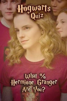 Hogwarts Quiz: What % Hermione Granger Are You?