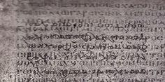 History mystery: Palimpsest – Ancient Manuscript
