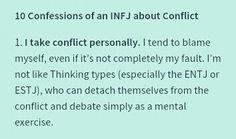 Ten confessions of an INFJ - #1